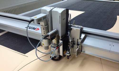 CNC-Zuschnitte Polster und Kissen für den Objektbereich