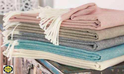 Decken und Plaids für den Heimbedarf und schöner wohnen